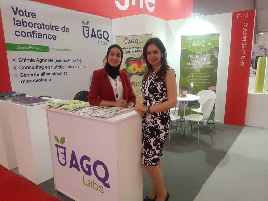 AGQ Labs Maroc présente au SIAM 2019